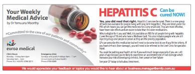 Hepatitis C information